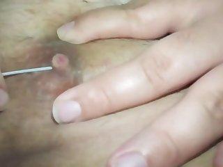 piercing my nipples