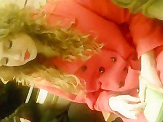 red llipstick