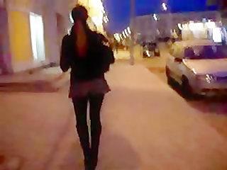 Evening Upskirt