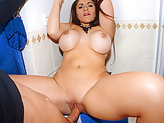 Marta LaCroft in Sexy Tourist Fucks in the Bathroom - PublicPickups